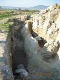 Част от отбранителната стена и рова, ограждащи селището; Провадия-Солницата; Праистория - Исторически музей град Провадия