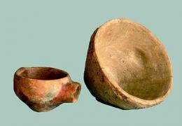 Керамични съдове използвани в производството на сол; Провадия-Солницата, Халколит - Исторически музей град Провадия
