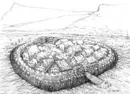 Примерна графична възстановка; Провадия-Солницата; Праистория - Исторически музей град Провадия