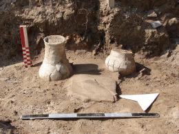 Керамични съдове; Провадия-Солницата; Късен Неолит - Исторически музей град Провадия
