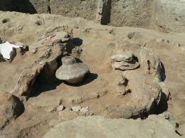 Останки от съоръжение-пещ за изваряване на сол; Провадия-Солницата; Късен Неолит - Исторически музей град Провадия